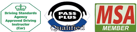 John Griffin is a DSA approved, pass-plus qualified, and MSA commitee member driving instructor.